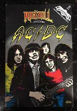 Very Rare - AC/DC - Rock N Roll Comic Book! Now even more limited.