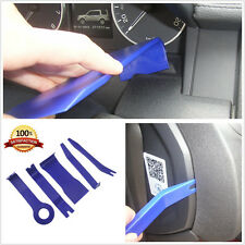 5in1 Blue Vehicles Trim Interior Panel Clip Lights Pry Open Tools Repairing Kit