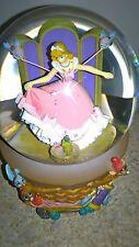 Disney Cinderella Snow Globe Sewing Basket Dress Making Musical Snowglobe