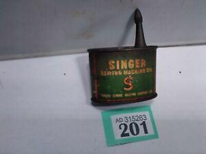 Vintage Singer Oil Can