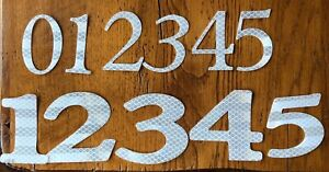 Reflective Fish House Numbers and Letters ( up to 13 letters/numbers)