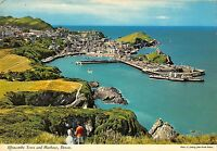 BR90156 ilfracombe town and harbour devon  uk
