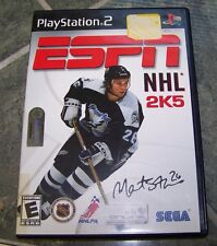 PlayStation 2- ESPN NHL 2K5 - Disc - Rated E - EUC!