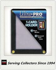 Ultra Pro Black Frame 1 Card Screwdown Holder for Trading Cards Bundle of 15