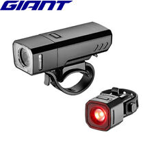 Giant Recon HL500 and TL100 USB Combo Bicycle Light Set