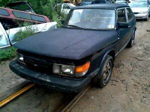 Driver Left Quarter Glass Hatchback Chrome Frame Fits 83-93 SAAB 900 73542