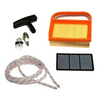 Air Filter Fuel Filter Handle Primer Light Bulbs Kit For Stihl TS410 TS420 Parts