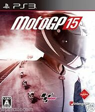 Used PS3 Moto GP 15 SONY PLAYSTATION 3 JAPAN JAPANESE IMPORT