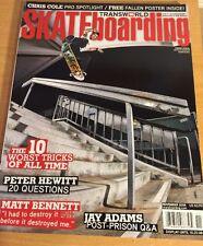 Transworld Skateboarding Magazine, November 2008