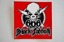 """Black Sabbath Sticker Decal Bumper Window Indoor/Outdoor Rock Approx.4""""X4"""" (18)"""