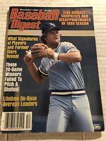1980 Baseball Digest KANSAS CITY ROYALS George BRETT No Label PLAYER OF THE YEAR