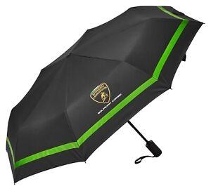 Lamborghini Squadra Corse Team Compact Umbrella Black/Green