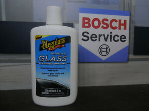 Meguiar's G8408EU Perfect Clarity Glass Polishing Compound, Glastiefenreiniger