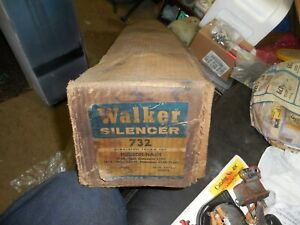 NOS WALKER MUFFLER 1954-5 Nash Statesman&1955 Hudson Wasp see apps in photos