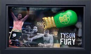 Tyson Fury Signed And Framed Glove Coa World Champion WBC