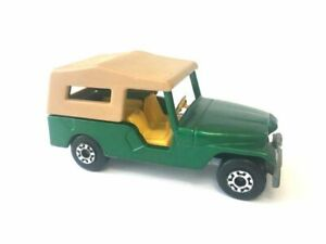 Matchbox Superfast No.53 Jeep CJ6 Lesney Made in England Vintage Unboxed
