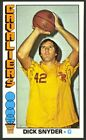 1976-77 Topps Basketball Dick Snyder #2 - Cleveland Cavaliers - Mint