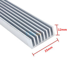 Heatsink Electronic Components 300mm*25mm*10mm for Led Emitter Diodes High Power