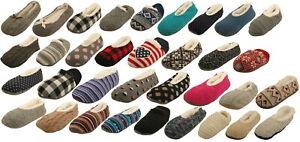 Ex-Store Ladies Knitted Ballet Slipper Socks
