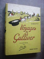 LES VOYAGES DE GULLIVER de 1950  Illustrations par JOB  Jonathan Swift  TBE