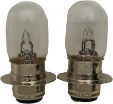 2 Pack 6 Volt 25W Clear A-3625-BP Eiko Dual Filament Headlight Bulb
