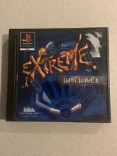 Extreme Pinball PlayStation 1 Game PS1 PS2 PAL