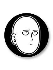 """Pin Button Badge Ø25mm 1"""" One Punch Man Manga Japan Saitama Oppai"""