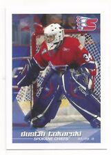 2007-08 Spokane Chiefs (WHL) Dustin Tokarski (Lehigh Valley Phantoms)