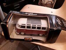 """Maisto 1/25 V detailed Die-cast Model Volkswagen Camper Van """"samba"""" Special ed"""