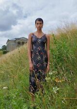 Seller away! Erdem H&M Black Sequin Floral Embroidered dress US12 EUR42 Moschino
