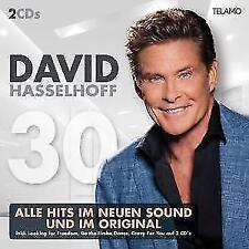 30 - David Hasselhoff (2017) - Das Beste aus 30 Jahren - 2 CD - NEU&OVP