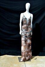 Marvel by LA PERLA animal print mesh dress size 4 used MINT long maxi dress sexy