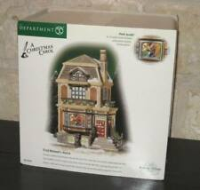New ListingDept 56 Dickens Village Fred Holiwell'S House A Christmas Carol