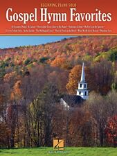 Gospel Hymn Favorites Sheet Music Beginning Piano Solo SongBook NEW 000311799