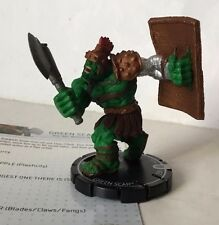 HeroClix MUTATIONS and MONSTERS #033  GREEN SCAR   MARVEL  HULK