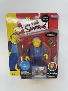 The Simpsons Fat Tony Series 1 All Star Voices Figurine