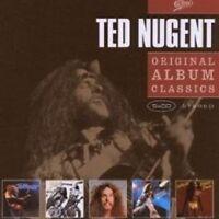 "TED NUGENT ""ORIGINAL ALBUM CLASSICS"" 5 CD BOX NEW+"
