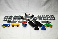 Part number 6376 Lego Duplo Dark Grey Train Railway Crossover