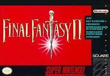 Final Fantasy II (Super Nintendo Entertainment System, 1991) SNES GAME ONLY