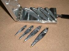 Saltwater Fish Jig -3 mold 1,2,3,4oz CNC Aluminum USA
