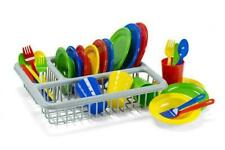 KidzLane Play Dishes Set, 29 Piece with Drainer (0531)