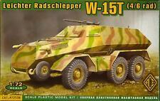Ace Models 1/72 German World War Ii Leichter Radschlepper W-15T (4/6 rad)