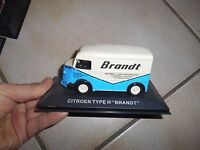 Citroën Type H Miniature publicitaire Brandt  collection altaya ou atlas ?