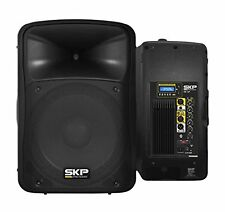 "SKP PRO AUDIO SK-4P BK Bluetooth Powered Loudspeaker 15"" 1000W MAX 2 Way USB/SD"