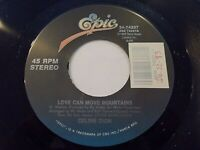 Celine Dion Love Can Move Mountains / Cry Just A Little 45 1992 Vinyl Record