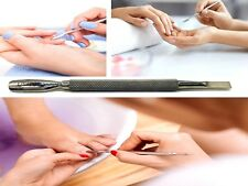 Cuticle Pusher Professional Dual Tool Manicure Gel Polish Stainless Steel