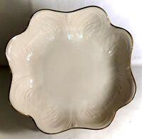 "Lenox Saybrooke Collection 7 1/2"" Scalloped Bowl"