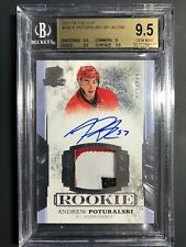2017-18 The Cup Andrew Poturalski Rookie Patch Auto /249 BGS 9.5 10 Auto