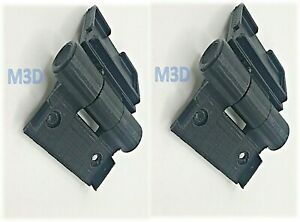 2 No Replacement Hinges for Keter store it out xl SH1 SH2 SH3 UK SELLER FREE P&P