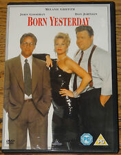 BORN YESTERDAY 1993 MELANIE GRIFFITH DON JOHNSON RARE DELETED OOP R2 DVD